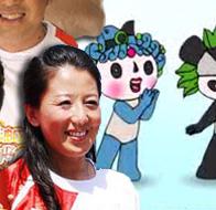 冠军演绎奥运环保公益广告图片
